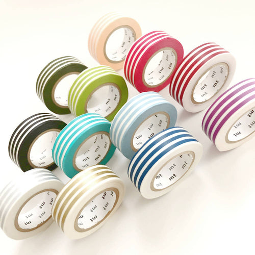 stripe washi tape, striped thicker line masking tape