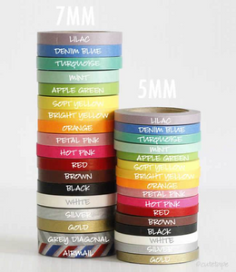 thin washi tape narrow skinny 7mm 5mm