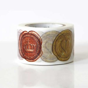 wax seal washi tape mt wide