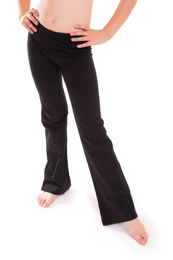 Black Womens Jazz Pants