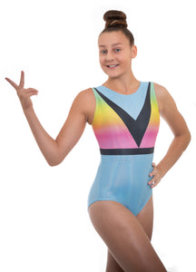 Dazzle Sleeveless Gymnastics Leotard