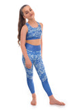 Flourish Crop Top and Leggings Activewear Set