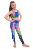 Kinetic Crop Top and Leggings Set