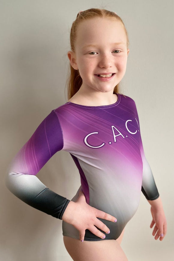 CACL Long Sleeve Club (Eastbourne) Gymnastic Leotard