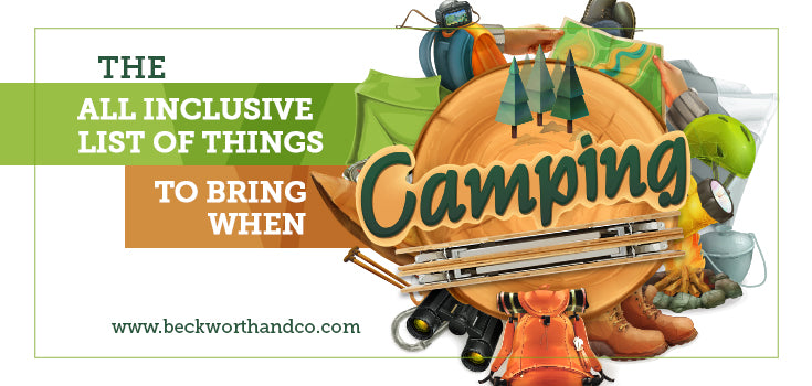The All Inclusive List of Things to Bring When Camping