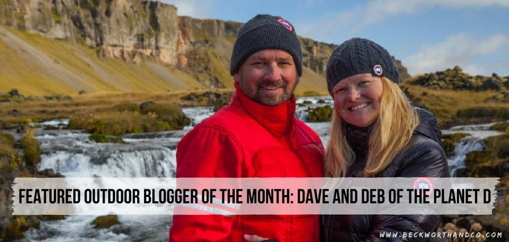 Featured Outdoor Blogger of the Month: Dave and Deb of The Planet D