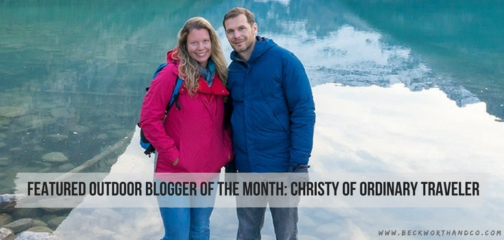 Featured Outdoor Blogger of the Month: Christy of Ordinary Traveler