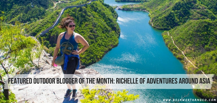 Featured Outdoor Blogger of the Month: Richelle of Adventures Around Asia