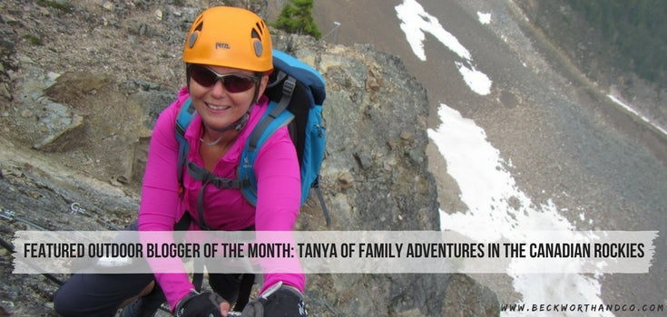Featured Outdoor Blogger of the Month: Tanya of Family Adventures in the Canadian Rockies