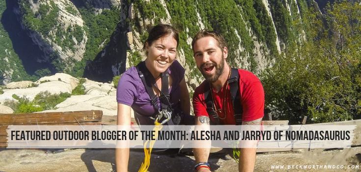 Featured Outdoor Blogger of the Month: Alesha and Jarryd of NOMADasaurus