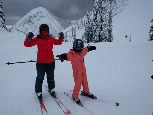 Tanya-and-her-son-skiing