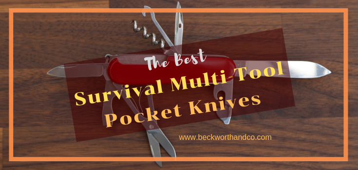 The Best Survival Multi-Tool Pocket Knives