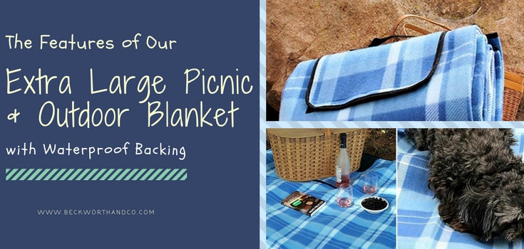 The Features of Our Extra Large Picnic & Outdoor Blanket with Waterproof Backing