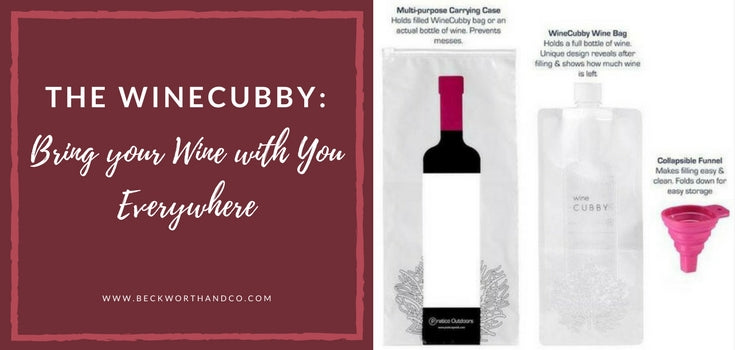 The WineCubby: Bring your Wine with You Everywhere