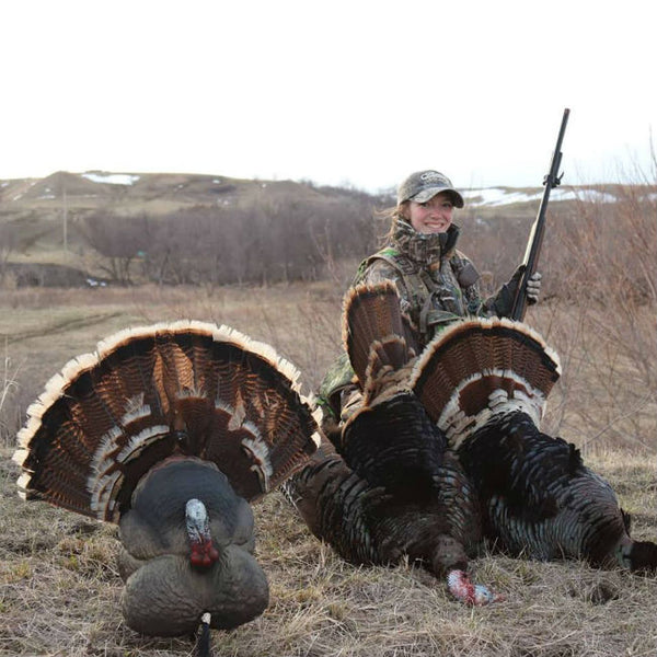 kat haas hunting turkey meat