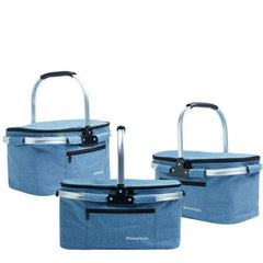Foldable Collapsible Insulated Picnic Basket