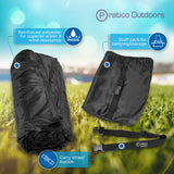 Premium Outdoor & Stadium Blanket - Large, Black