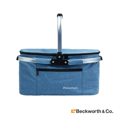 Shipping - Foldable Collapsible Insulated Picnic Basket