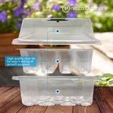 12-cell seeding tray plastic kit