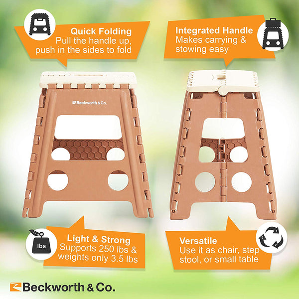 Miraculous Smartflip Easy Setup Camping Stools Flat Folding Chairs 2 Pack Theyellowbook Wood Chair Design Ideas Theyellowbookinfo