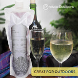 WineCubby Reusable Foldable Wine Bag