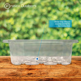 12-cell seedling kit base tray