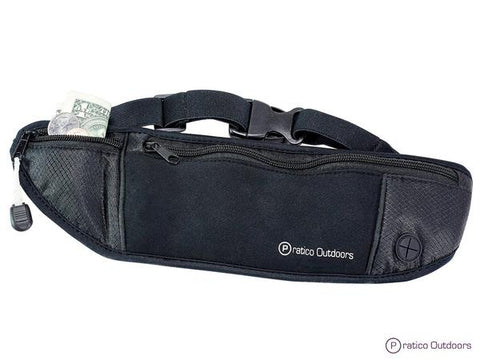 RunCubby Exercise Belt - Great as a Running Belt, Jogging Fanny Pack, Fitness & Gym Workout Belt