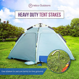 Aluminum Camping Stakes - 4 Pack