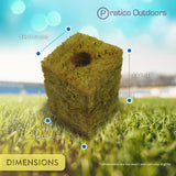 grow cubes dimensions