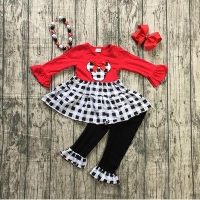 Plaid Minnie Outfit