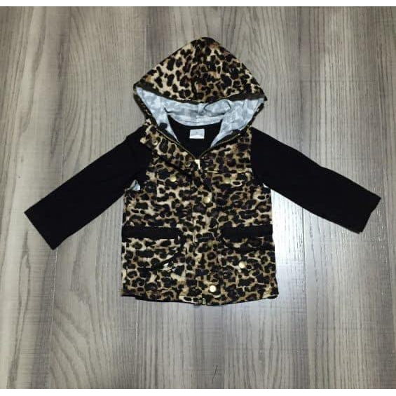 Mommy & Me Leopard Vest with Black Shirt