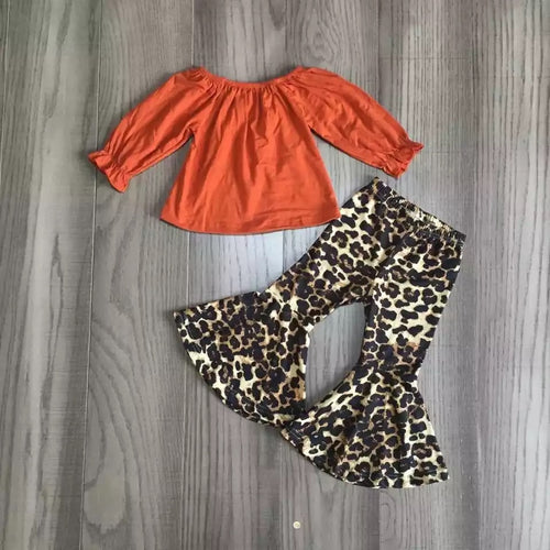 Rustic Cheetah Bell Bottom Outfit
