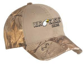 War Eagle Camo Cap with Contrast Front Panel