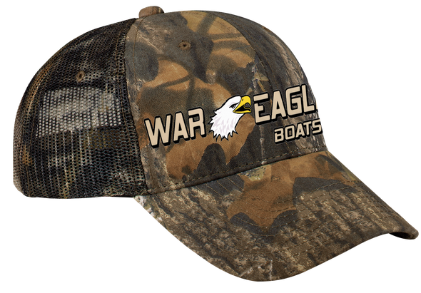 War Eagle Pro Camouflage Series Cap with Mesh Back - Mossy Oak