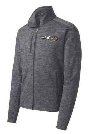 War Eagle Digi Stripe Fleece Jacket