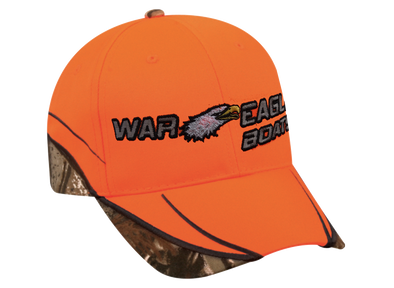 Blaze Orange & Real Tree Xtra Camo Cap