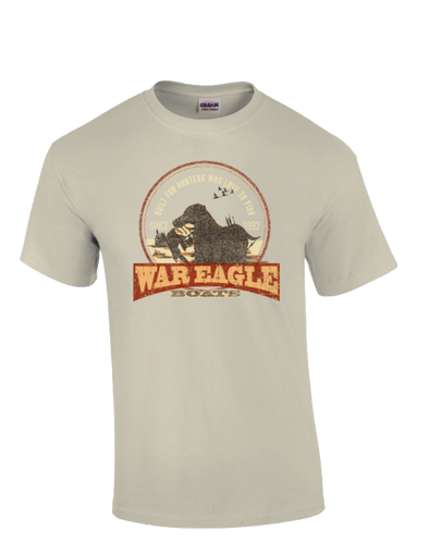 War Eagle Boats Lab Hunting T-Shirt