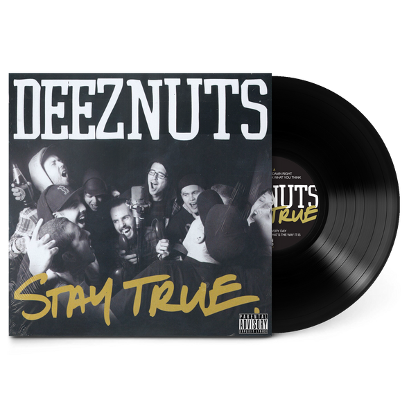 "Stay True Black 12"" Vinyl"
