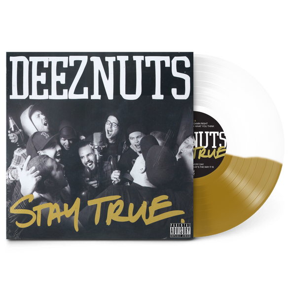 "Stay True Half White/Half Gold 12"" Vinyl"
