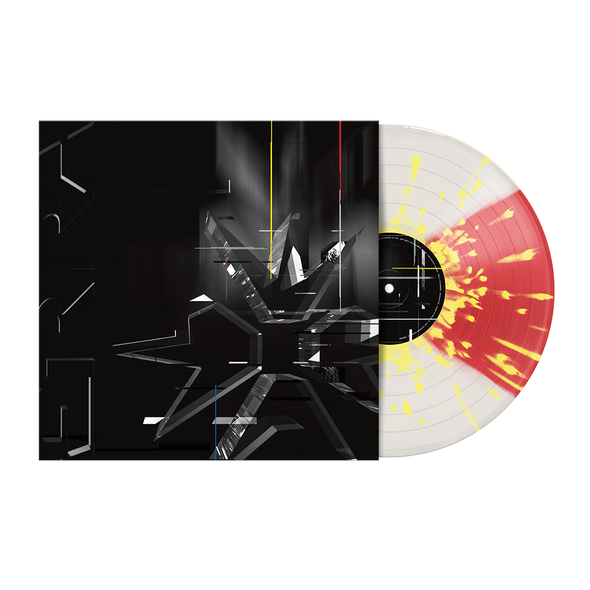 "ERRA 12"" Vinyl (DIVISION - Red/Clear Quad With Yellow Splatter) // PRE-ORDER"