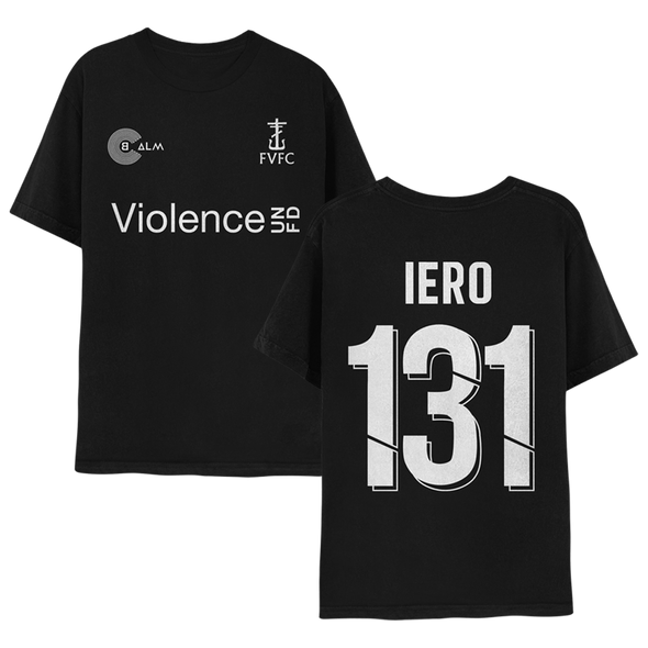 Future Violence Football Club T-Shirt (Black) // Pre-Order