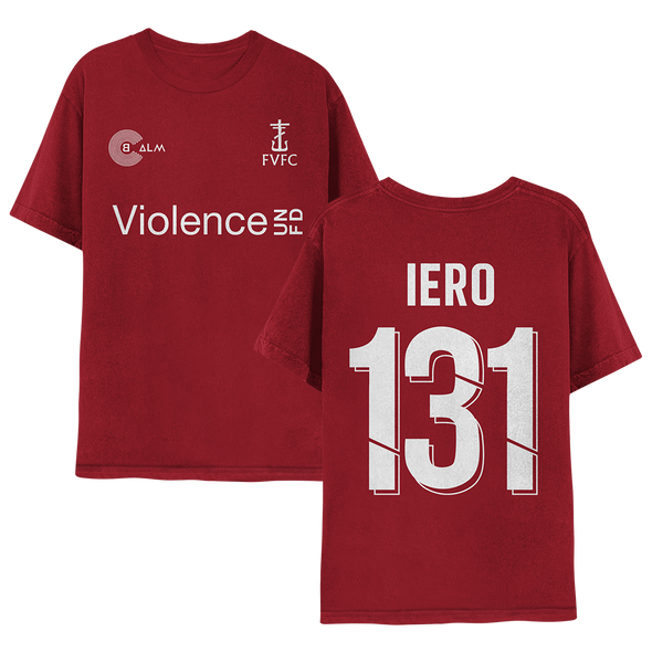 Future Violence Football Club T-Shirt (Red) // Pre-Order