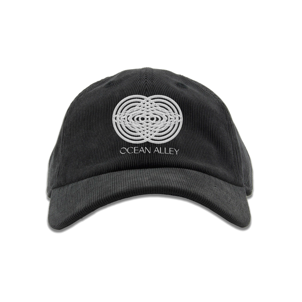 Morphing Planet Corduroy Hat (Black)