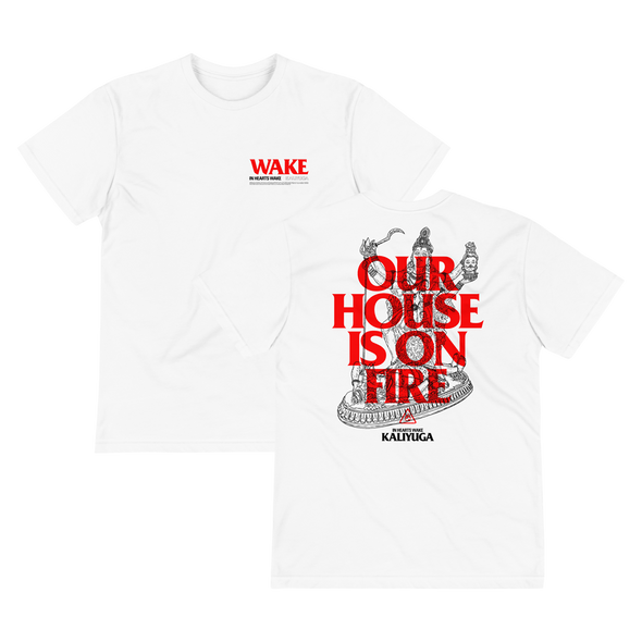 Our House Is On Fire Organic T-Shirt