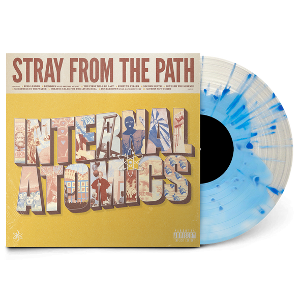 "Internal Atomics 12"" Vinyl (Blue in Clear)"