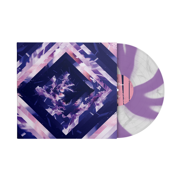 "A Beautiful Place To Drown 12"" Vinyl (Cloudy Clear and Purple Cornetto)"