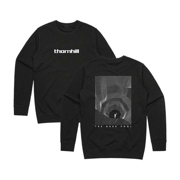 The Dark Pool 2 Crew Neck (Black) // NEW