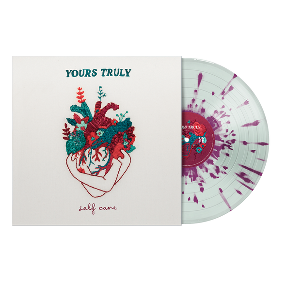 "Self Care 12"" Vinyl (Coke Bottle Green w/ Purple Splatter)"