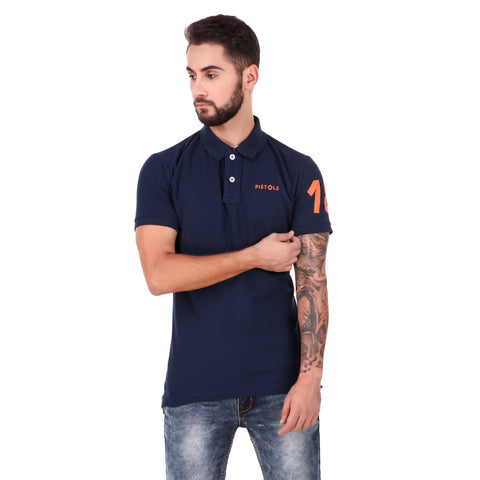 Pistole Navy Blue Polo Tshirt