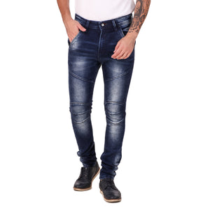 Pistole Blue Faded Slim Fit Mid-Rise Stretchable Jeans